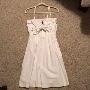White English Factory Dress
